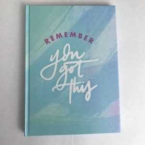 Other - Remember You Got This Unlined Journal Diary